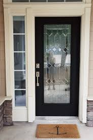 House Doors Diy How I Painted 3 Of My House Doors Matte Black