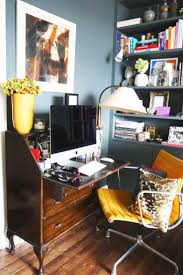 Apartment Therapy Living Room Office 113 Best Glam Chic Offices Images On Pinterest Office Ideas