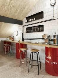 cuisine style bar la déco intérieur de style scandinave s impose avec élégance bar