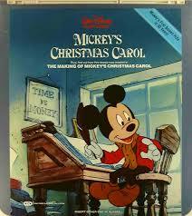mickey u0027s christmas carol 76476107536 u side 1 ced title