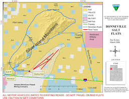 Utah Blm Map by Bonneville Salt Flats Maplets