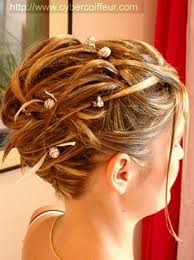 chagne pour mariage chignon pour mariage cheveux mi wedding hairstyle