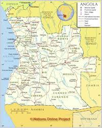 Cabo Map Angola Atlas