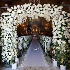 Church Decorations For Wedding Church Wedding Decorations Weddinggawker