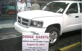 we say goodbye to the last dodge dakota pickuptrucks com