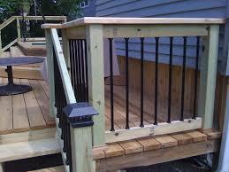 Decking Handrail Ideas Deck Stair Railing Ideas Deck Railing Ideas To Provide Safety