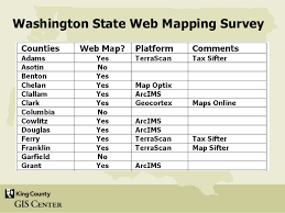clark county gis maps a survey and analysis of gis web mapping applications in washington s