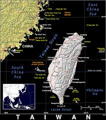 Map Of Taiwan Tw Taiwan Public Domain Maps By Pat The Free Open Source
