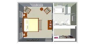 salle d eau dans chambre plan chambre avec salle de bain et dressing mh home design 13