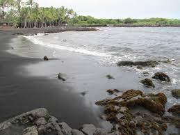 black sand in hawaii hawaii sea turtle black sand beach