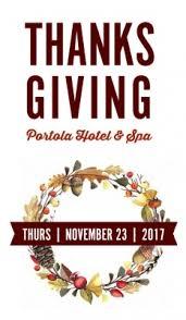 celebrate thanksgiving at portola hotel spa jacks monterey and