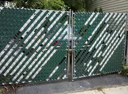 chain link fence paint design and ideas of house
