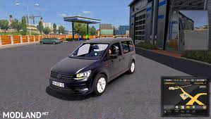 volkswagen caddy truck volkswagen caddy 1 28 mod for ets 2