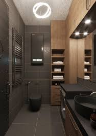 Small Dark Bathroom Ideas Chic Small Studio Apartment Which Use Space Splendidly To Make It