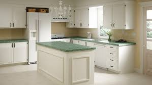 white kitchen cabinets with green countertops cabinet refacing lowe s canada