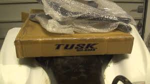 unboxing tusk nerf bars for suzuki ltz400 youtube