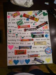 candy bar letter for cole u003c3 things i need want to learn