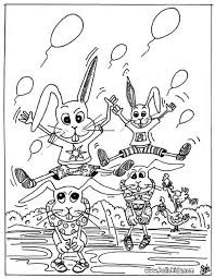 rabbit carrot coloring pages hellokids