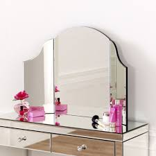 glass vanity table with mirror astonishing bedroom classy makeup mirror set glass dressing table