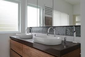 Mosaic Tile Ideas For Bathroom Bathroom Black Backsplash Tile Bathroom Sink Backsplash Ideas
