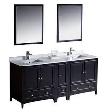 72 In Bathroom Vanity Double Sink by Fresca Oxford 72 Inch Espresso Traditional Double Sink Bathroom