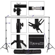 photography backdrop stand ravelli absl photo backdrop stand kit 13