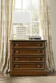 Cherry Wood Lateral File Cabinet by Hooker Furniture Home Office Brookhaven Lateral File 281 10 566