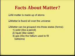 physical science matter science grade ppt