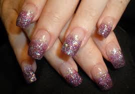 purple gel nail french designs another heaven nails design 2016