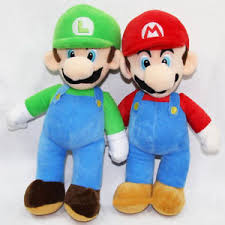 super mario plush toys luigi u0026 mario doll stuffed animals toy