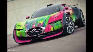 citroen sports car citroen survolt art car
