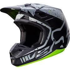 motocross helmets in india fox racing 2017 mx new v2 nirv grey flo yellow dirt bike
