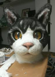 petunia how to make a paper mache cat head paper mache