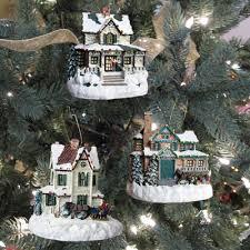 kinkade winter memories set 4 bradford ornament bradford