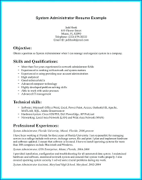 best resume template 3 system administrator resume template