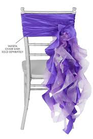 curly willow chair sash curly willow chair sashes purple the cinderella house chair