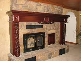fireplace mantel decor home design inspiration within used