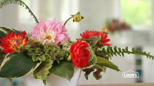 how to arrange flowers from your garden youtube