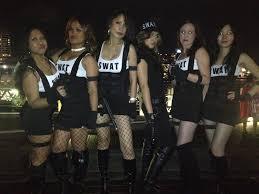 Swat Team Halloween Costume Park