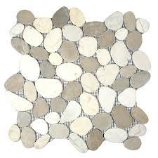 pebble bathroom floor tiles pebble tile shop