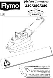 flymo lawn mower 350 user guide manualsonline com