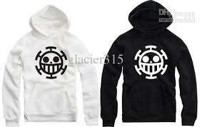 2017 new sale fleece pullover anime one piece trafalgar law