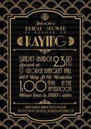 gatsby invitations birthday invitations gatsby roaring 20s gold white black