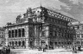 house drawings the imperial opera house vienna 16 gorgeous original drawings