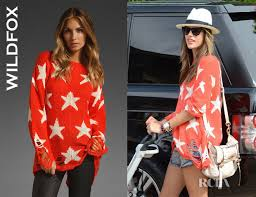 alessandra ambrosio s wildfox couture seeing lennon sweater