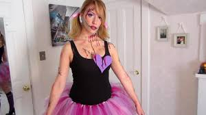 diy creepy doll halloween costume make your own tutu youtube