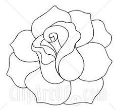 the 25 best rose outline ideas on pinterest simple rose simple