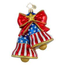 radko ornaments patriotic usa ornament let freedom ring