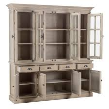 wilson reclaimed wood 82 inch china cabinet by kosas home free