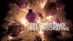 Mini Halloween Tree Ornaments by Diy Mini Christmas Tree Decorating Youtube